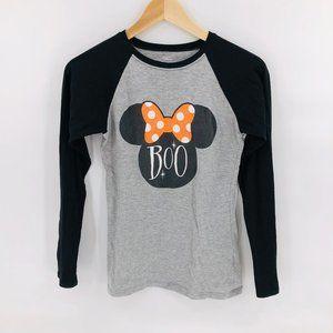 Disney Minnie Mouse Boo Baseball Tee